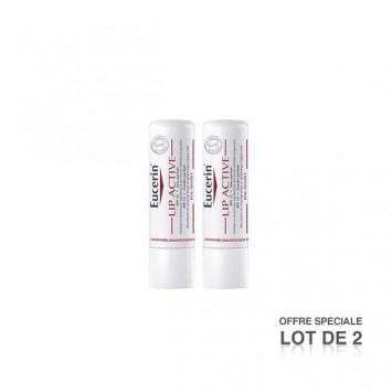 EUCERIN Lip Active Stick Lèvres x2