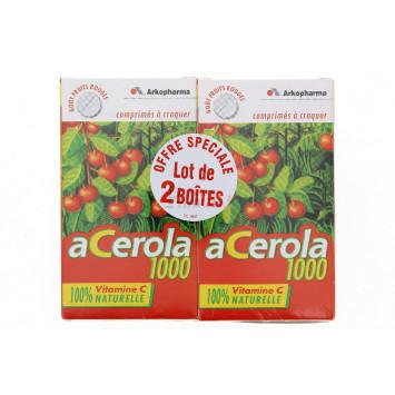 ACEROLA 1000 ARKOPHARMA 30 COMPRIMES x2