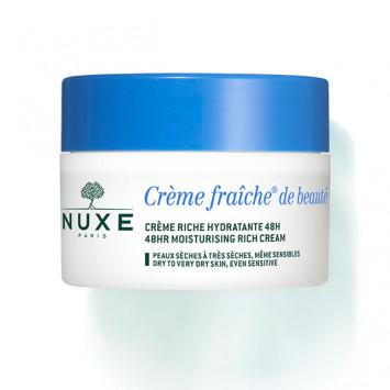 NUXE Crème Fraîche de Beauté Crème Riche Hydratante 50ml