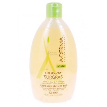 GEL DOUCHE SURGRAS A-DERMA 500ML