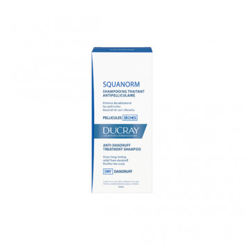 DUCRAY SQUANORM SHAMPOOING TRAITANT PELLICULES SECHES 200ML
