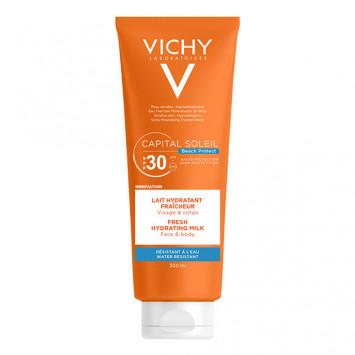 VICHY Capital Soleil Lait Hydratant Fraicheur SPF30 Visage & Corps 300ml