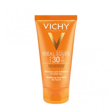 VICHY Idéal Soleil Emulsion Anti-Brillance Toucher Sec SPF30 50ml