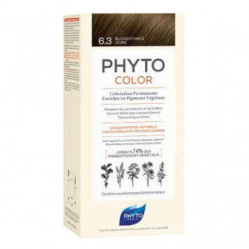 PHYTO PhytoColor Coloration Permanente - Coloration : 6.3 Blond Dorée