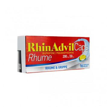 RHINADVIL Caps Rhume – 16 capsules