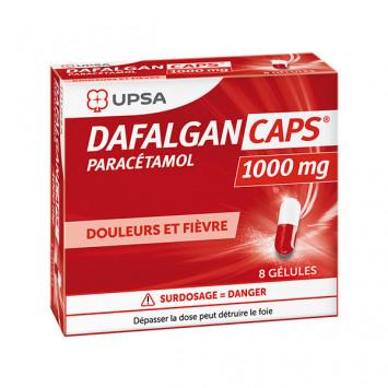 DAFALGANCAPS 1000 mg, gélule - 8 gélules