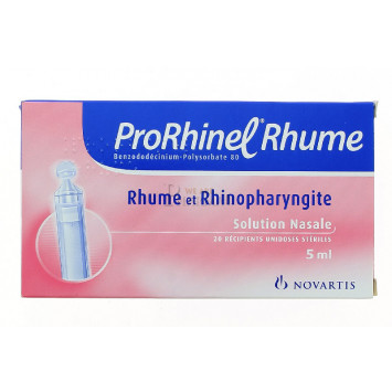 PRORHINEL RHUME SOLUTION NASALE 5ML x20