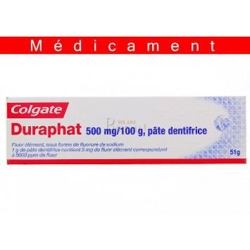 DURAPHAT 500 mg/100 g, pâte dentifrice – 51G