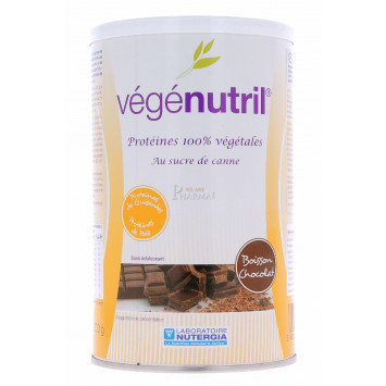 VEGENUTRIL BOISSON CHOCOLAT NUTERGIA 300G