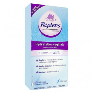 REPLENS GEL VAGINAL HYDRATANT LABORATOIRES MAJORELLE x 8 APPLICATEURS