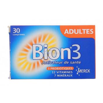 BION3 ADULTES ACTIVEUR DE SANTE 30 COMPRIMES