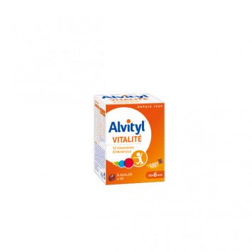 ALVITYL Vitalité x40 comprimés