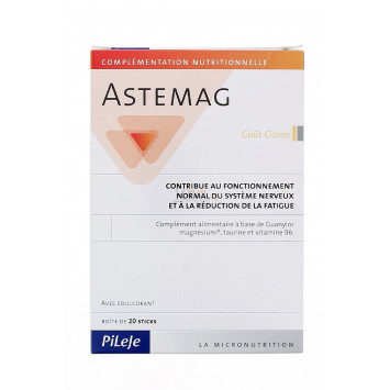 ASTEMAG GOUT CITRON PILEJE 20 STICKS