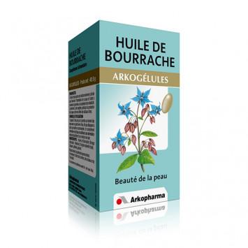 ARKOGELULES HUILE DE BOURRACHE ARKOPHARMA 180 GELULES