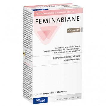 PILEJE Féminabiane Conception 30 comprimés + 30 capsules