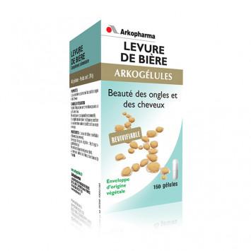 ARKOGELULES LEVURE DE BIERE 150 GELULES