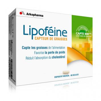 LIPOFEINE CHITOSAN CAPTEUR DE GRAISSES ARKOPHARMA 60 GELULES