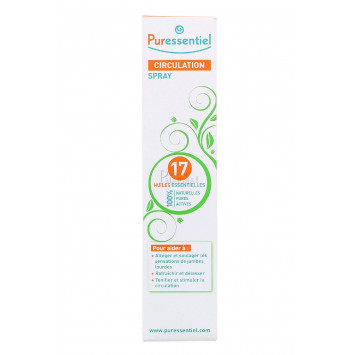 PURESSENTIEL CIRCULATION SPRAY 17 HUILES 100ML