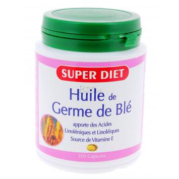 SUPER DIET HUILE DE GERME DE BLE 200 CAPSULES