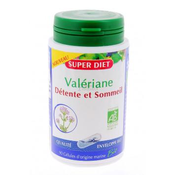 SUPER DIET VALERIANE DETENTE SOMMEIL 60 GELULES
