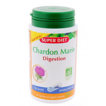 SUPER DIET CHARDON MARIE DIGESTION 90 GELULES