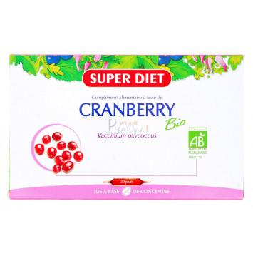 SUPER DIET CRANBERRY BIO 20 AMPOULES