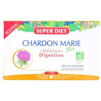 SUPER DIET CHARDON MARIE DIGESTION 20 AMPOULES