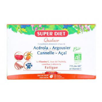 SUPER DIET QUATUOR FATIGUE 20 AMPOULES