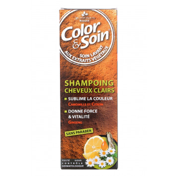 COLOR & SOIN SHAMPOING CHEVEUX CLAIRS 3 CHENES 250ML