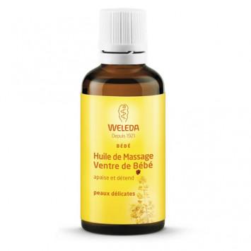 WELEDA Bébe Huile de Massage Ventre de Bébé 50ml