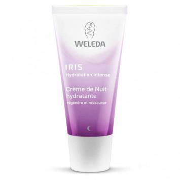 WELEDA Crème de Nuit Hydratante Iris 30ml