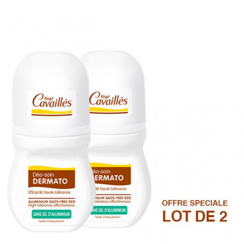 ROGE CAVAILLES Déo-Soin Dermato Roll-On 2x50ml