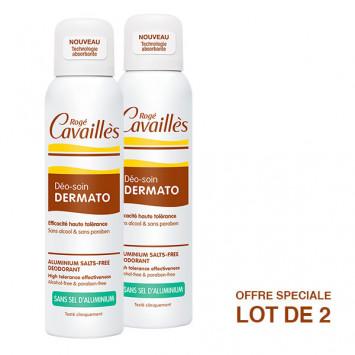ROGE CAVAILLES Déo-Soin Dermato Spray 2x150ml