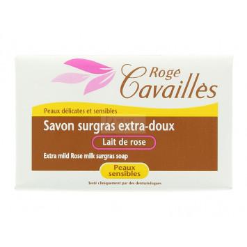 SAVON SURGRAS EXTRA-DOUX LAIT DE ROSE  ROGE CAVAILLES 150G