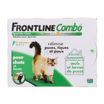 FRONTLINE COMBO SPOT-ON CHAT x 6