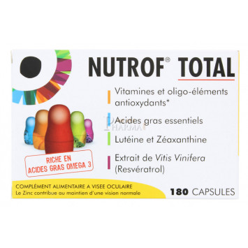 NUTROF TOTAL THEA 180 CAPSULES