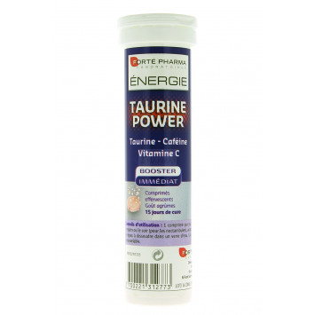 ENERGIE TAURINE POWER FORTE PHARMA COMPRIMES