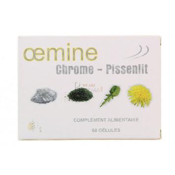 OEMINE CHROME-PISSENLIT 60 GELULES