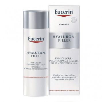 EUCERIN Hyaluron-Filler Soin de Jour Peau Normale à Mixte 50ml