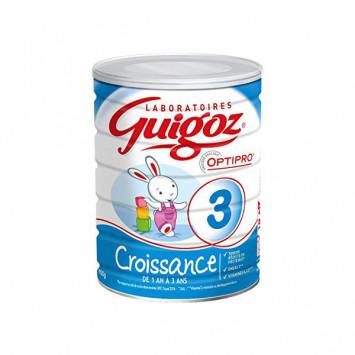 GUIGOZ 3 Croissance Lait en Poudre 800gr