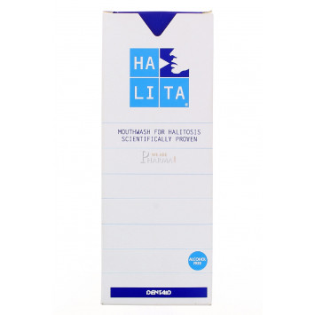 SOLUTION BUCCALE HALITA 500ML