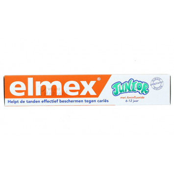 DENTIFRICE ELMEX AU FLUORURE JUNIOR 75ML