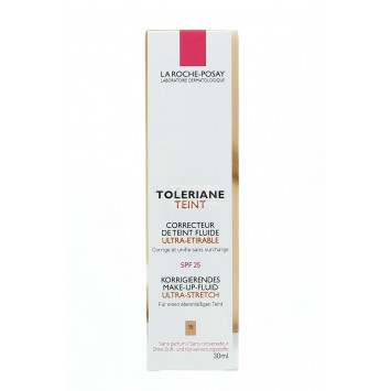 TOLERIANE TEINT CORRECTEUR TEINT FLUIDE ULTRA-ETIRABLE 15 DORE LA ROCHE-POSAY 30ML