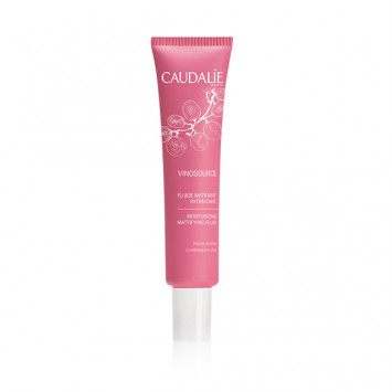 CAUDALIE FLUIDE MATIFIANT HYDRATANT VINOSOURCE 40ML