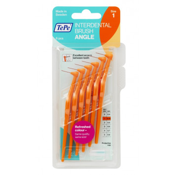TEPE ANGLE BROSSETTES INTERDENTAIRES 0,45MM ORANGE