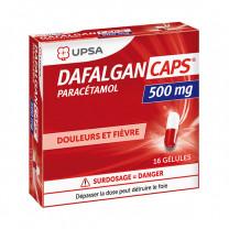 DAFALGANCAPS 500 mg, gélule - 16 gélules