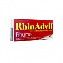 RHINADVIL RHUME IBUPROFENE/PSEUDOEPHEDRINE, comprimé enrobé – 20 comprimés