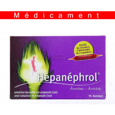 HEPANEPHROL, solution buvable en ampoule – 20 ampoules