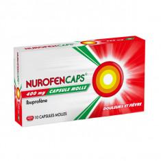 NUROFENCAPS 400 mg, capsule molle – 10 capsules
