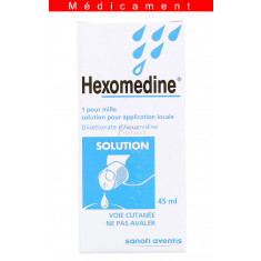 HEXOMEDINE 1 POUR MILLE, solution pour application locale – 45ML